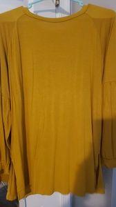 Mustard Agnes and Dora long sleeve